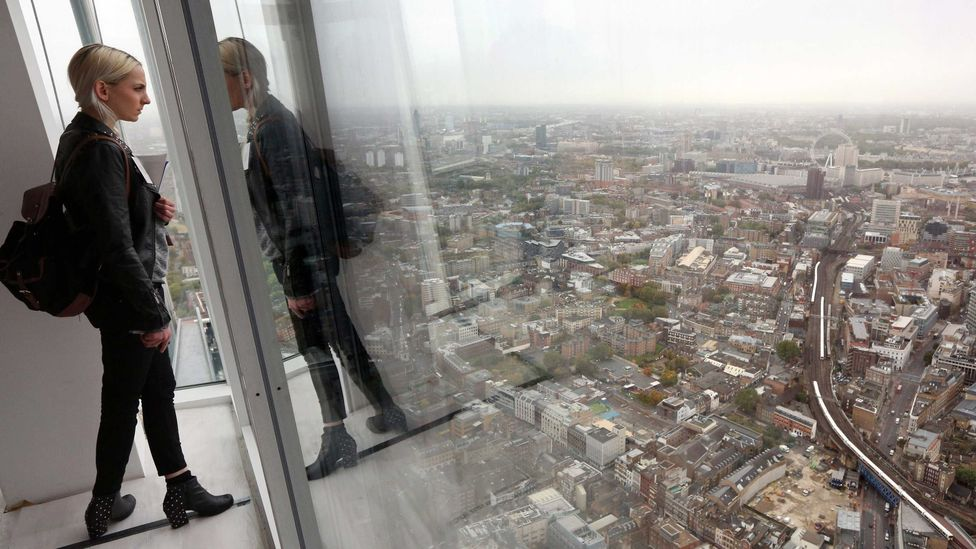 Looking down over London, where old and new sit side-by-side (Credit: Getty Images)