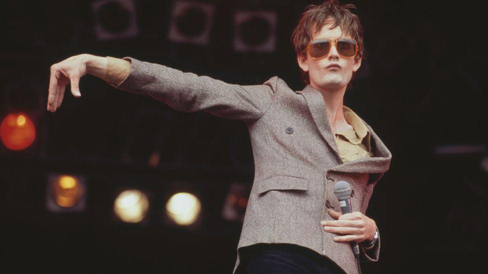 Pulp at Glastonbury 1995