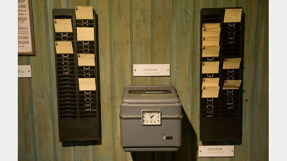 Companies now have to log their employees' hours. Methods vary, from fingerprint scanners to pen-and-paper lists – might we see punchcards return? (Credit: Getty Images)