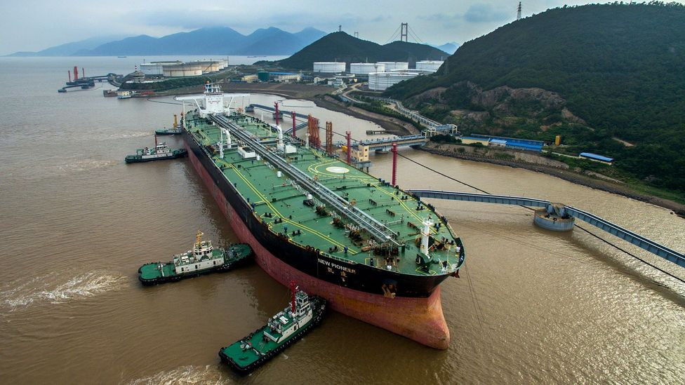The question of what to do with the world's oil tanker fleet will become more pressing as the world tries to wean itself off fossil fuels (Credit: Getty Images)