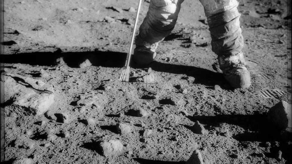 The astronauts brought back more than 360kg (790lb) of Moon rocks for study on Earth (Credit: Nasa)