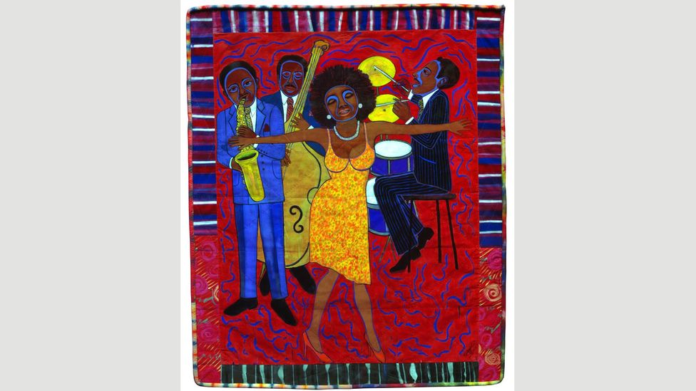 Mama Can Sing, Papa Can Blow #1: Somebody Stole My Broken Heart by Faith Ringgold, 2004