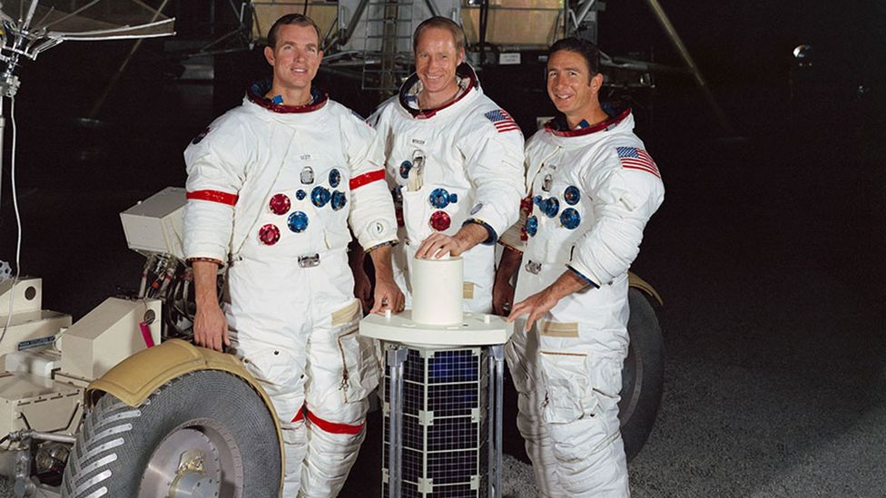 Apollo 15's crew launched a satellite which orbited the Earth for six months (Credit: Nasa)