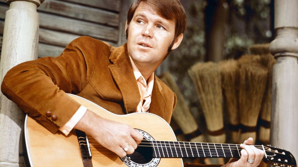 Country singer Glenn Campbell's music was played in space by astronaut Charlie Duke (Credit: Getty Images)