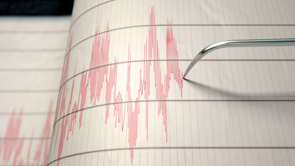 """With careful analysis, earthquake """"detectives"""" can detect the source of seismic activity (Credit: Alamy)"""