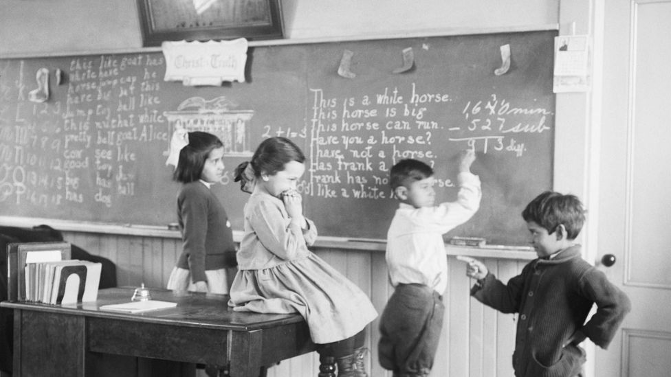 The IQ scores of people in the 1920s were lower than today (Credit: Getty Images)