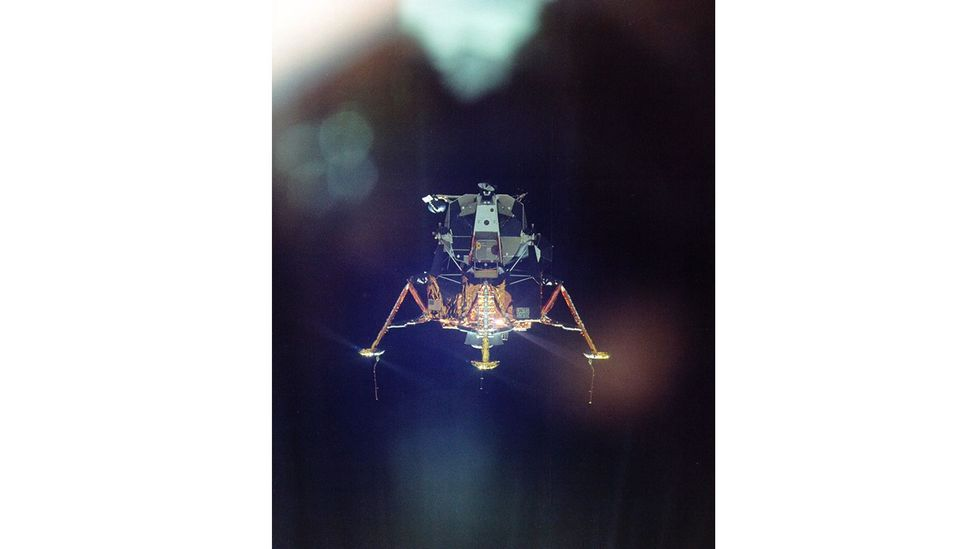 The lunar landers cost nearly $400m to make (Credit: Nasa)