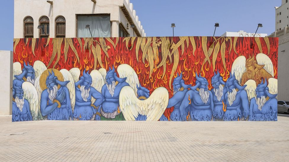 The Sharjah Art Foundation commissioned Standing Flames by Khadim Ali (Courtesy of the artist/ Sharjah Art Foundation)