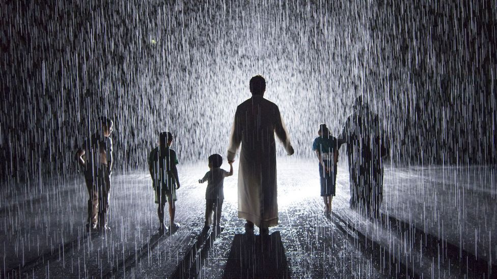 The Rain Room is a popular installation at the Sharjah Art Foundation (Credit: Sharjah Art Foundation)