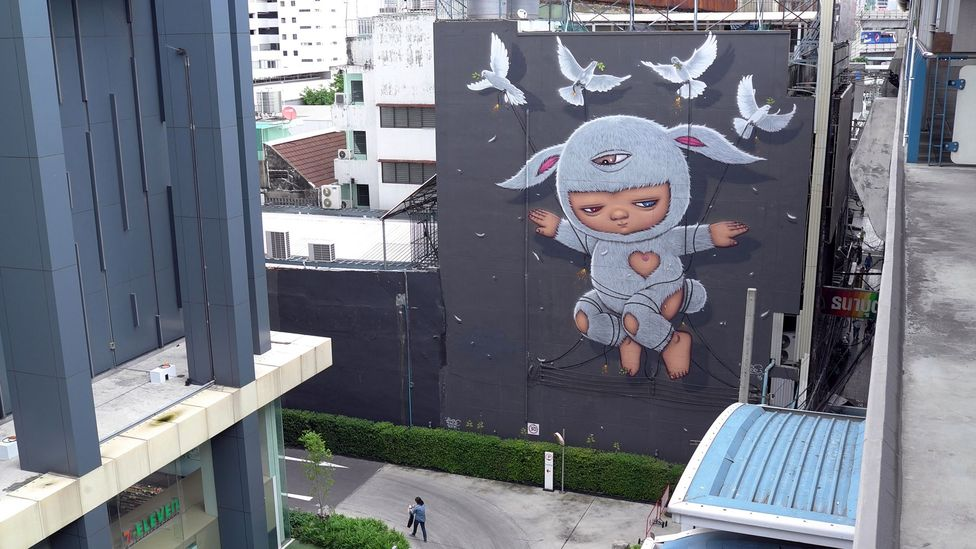 Politically-charged works by street artists like such as Alexface have received international acclaim (Credit: Alamy)