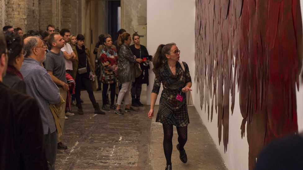 The October Salon is the Serbian capital's contemporary art biennale (Credit: October Salon)