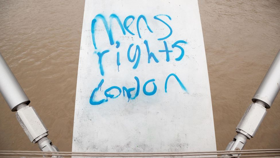 Tyler Durden has become an obsession of the men's rights movement, which has been gaining traction throughout the 21st Century (Credit: Alamy)