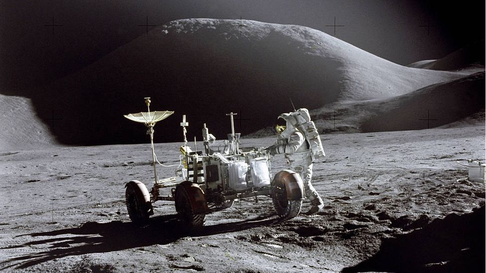 Apollo 15 rover (Credit: Nasa)