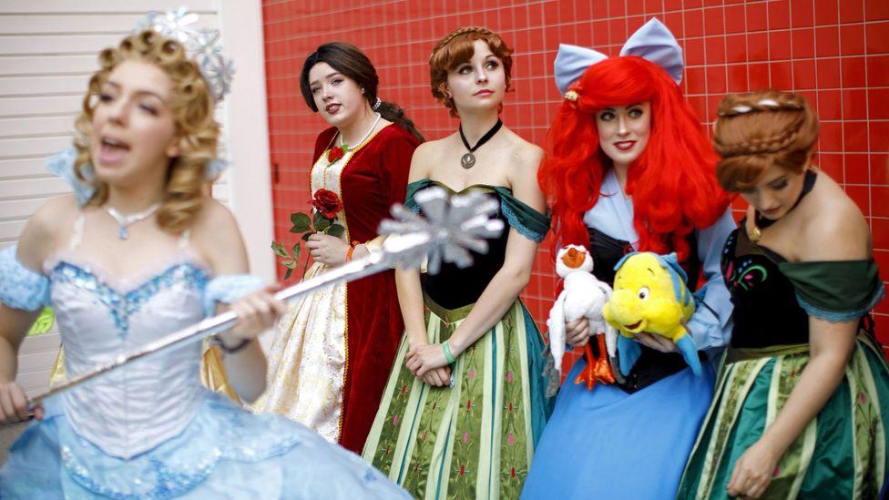 Disney princesses Cinderellla