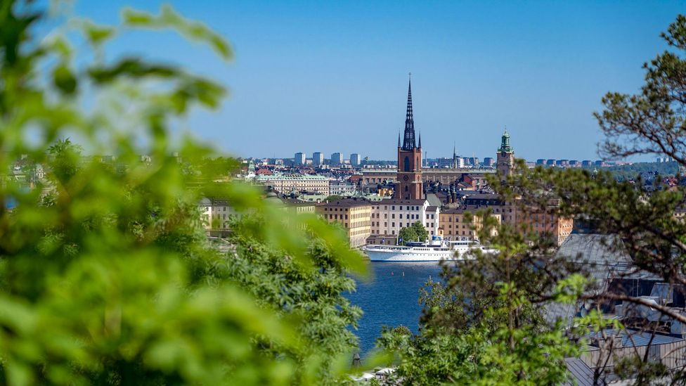 Sweden is well known for its  work-life balance, with much flexible work, childcare support and generous holiday. But clinical burnout is creeping in (Credit: Benoît Derrier)