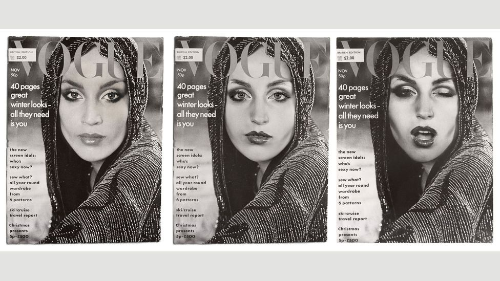 Cover Girl (Vogue) by Cindy Sherman, 1976 / 2011. (Credit: Courtesy of the artist and Metro Pictures, New York)