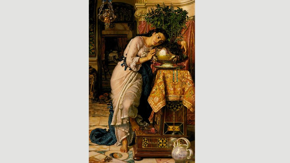Isabella and the Pot of Basil (1868) by William Holman Hunt was inspired by Keats's poem Isabella (Credit: Alamy)
