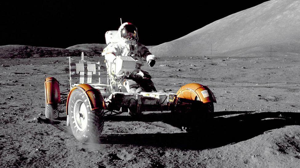 Lunar rover, Apollo 15 (Credit: Nasa)