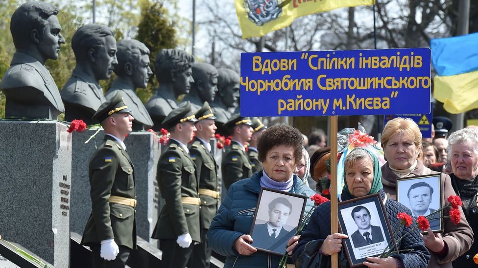 The Ukrainian government pays benefits to more than 36,000 widows of men who have died as a result of the Chernobyl disaster (Credit: Getty Images)