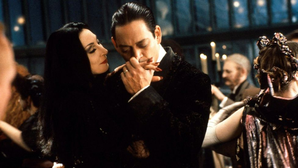 A version of La Folia appeared in The Addams Family, the 1991 film starring Anjelica Huston and Raul Julia (Credit: Alamy)
