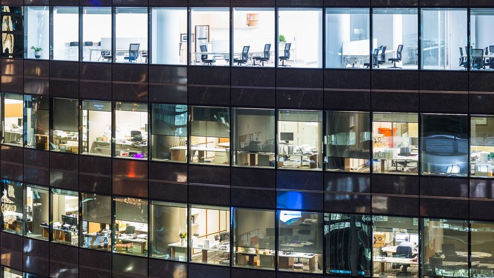 Many modern offices are built for function rather than how they make the people who use them feel (Credit: Getty Images)