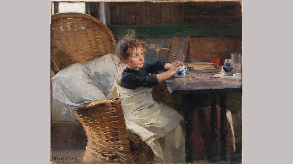 Helene Schjerfbeck, The Convalescent, 1888. One of her most celebrated works, this was painted in St Ives, Cornwall