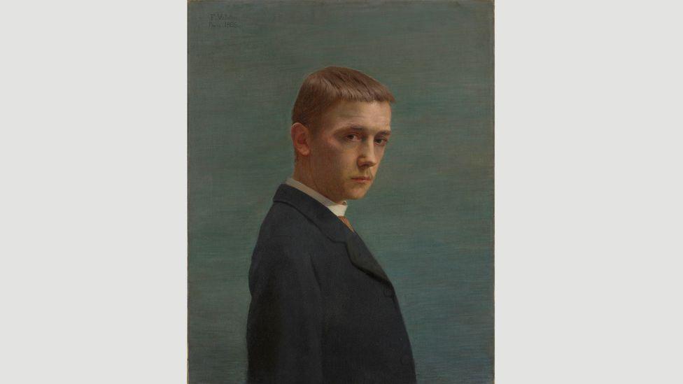 Self-portrait at the Age of Twenty (Autoportrait à l'âge de vingt ans), 1885, by Félix Vallotton (Credit: Nora Rupp, Musée cantonal des Beaux-Arts de Lausanne)