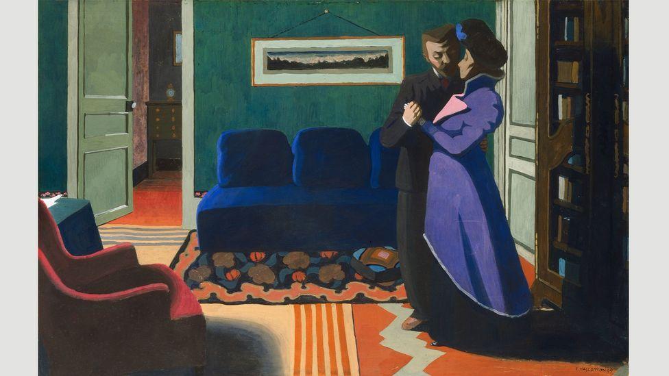 The Visit (La Visite), 1899, by Félix Vallotton (Credit: Kunsthaus Zürich)