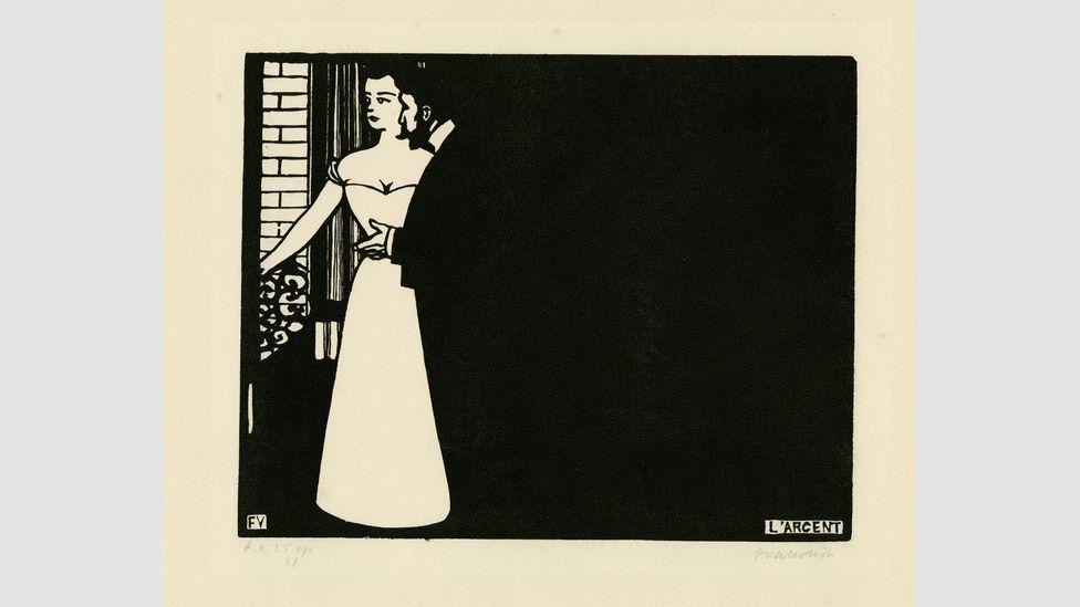 Intimacies V: Money (Intimités V: L'Argent), 1898, by Félix Vallotton (Credit: Musées d'art et d'histoire, Ville de Genève, Cabinet d'arts graphiques)