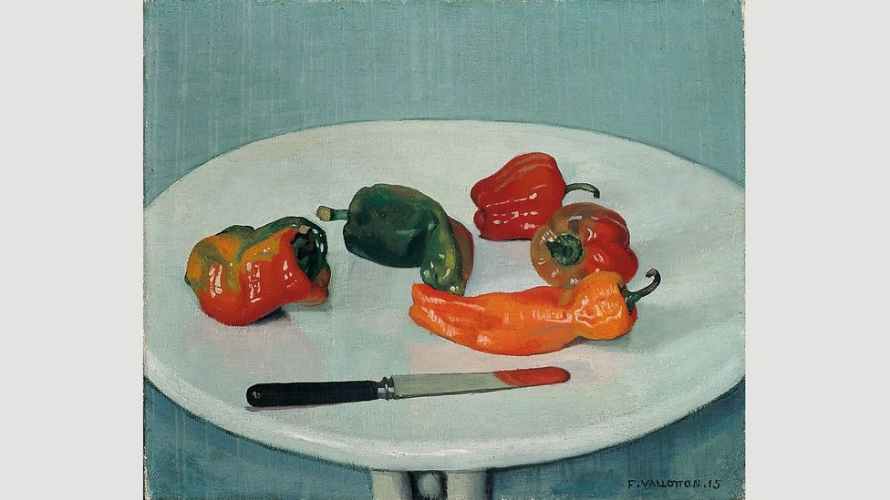 Red Peppers (Poivrons rouges), 1915, by Félix Vallotton (Credit: SIK-ISEA, Zurich)