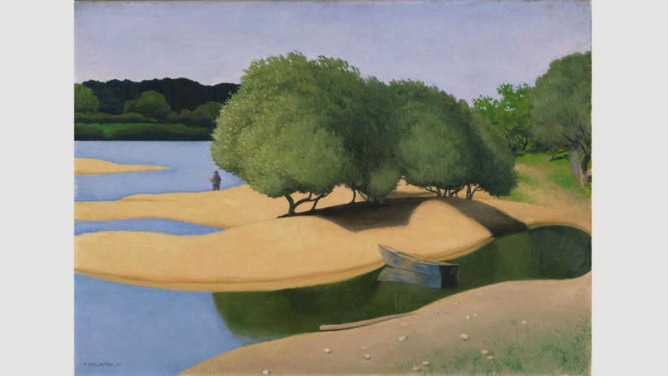 Sandbanks on the Loire (Des Sables au bord de la Loire), 1923, by Félix Vallotton (Credit: Kunsthaus Zürich)
