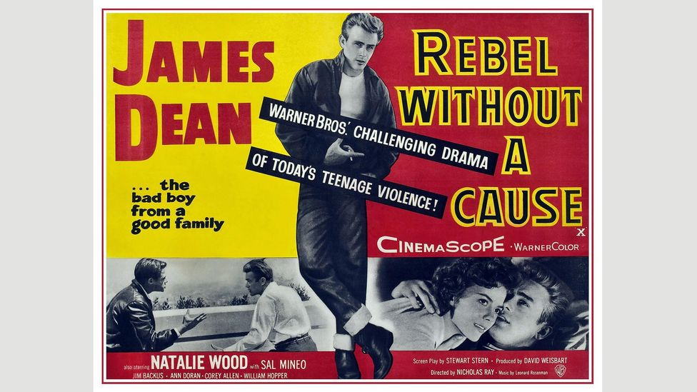 Released in 1955, Rebel Without a Cause was one of the first 'teen' movies (Credit: Alamy)