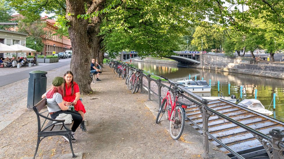 Finland's egalitarian culture, flat structures and welfare model have built an environment where flexible work thrives (Credit: Alamy)