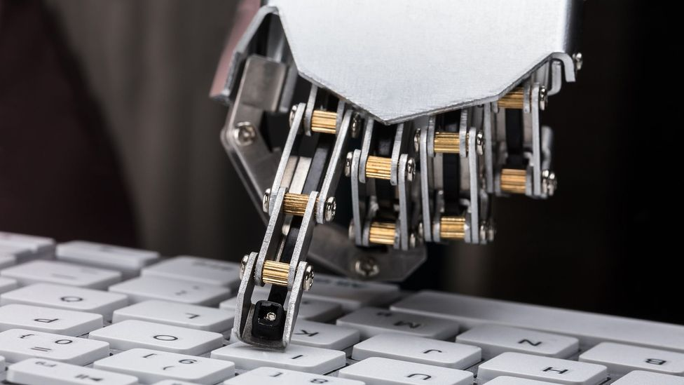 Natural language processing systems can learn biases from the data they are trained upon, which can then influence the suggestions a smart email system offers (Credit: Alamy)