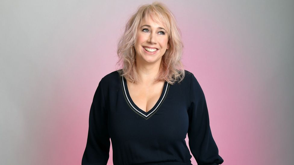 """In her latest show, British comic Tiff Stevenson discusses her """"origins story"""", when aged 17, she left school, became pregnant and had an abortion (Credit: Steve Ullathorne)"""
