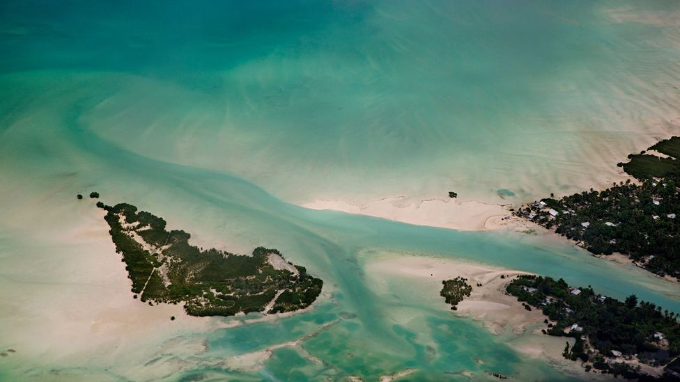 Artificial islands or coastal fortification could protect the Republic of Kiribati from further land loss (Credit: Getty Images)