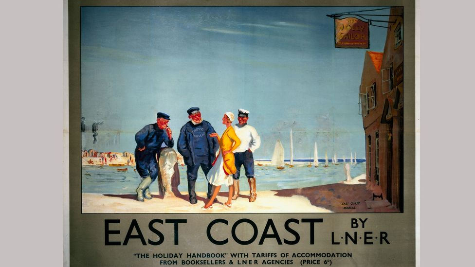 Fishermen's garb started to influence seaside style in the first half of the 20th Century (Credit: Getty Images)