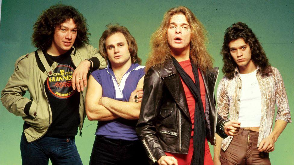 Van Halen wiith David Lee Roth