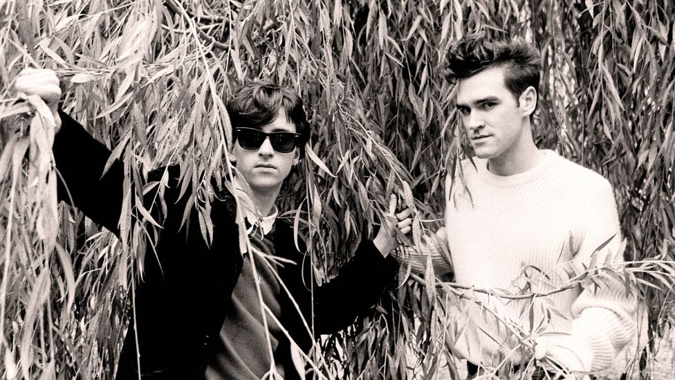 Johnny Marr and Morrissey of The Smiths