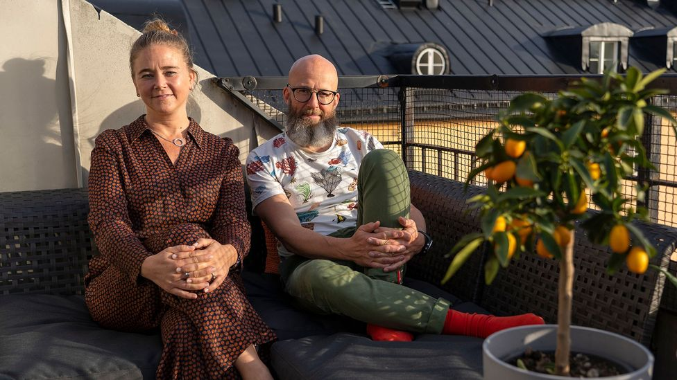 Finding a solution to Stockholm's long queues for homes and addressing loneliness prompted Katarina Liljestam Beyer and Jonas Häggqvist to launch Colive (Credit: Benoît Derrier)