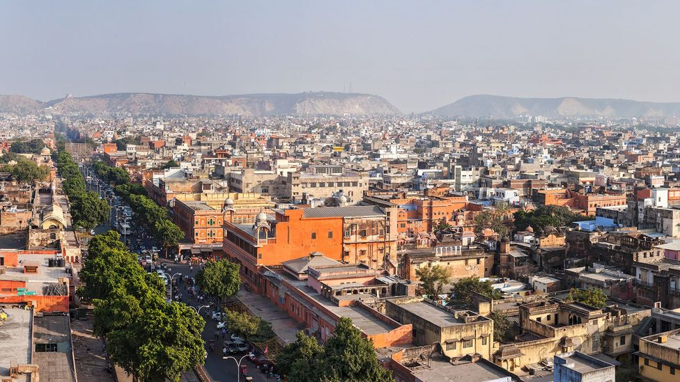 In the city of Jaipur, India, summer temperatures reach 40C and higher (Credit: Getty Images)