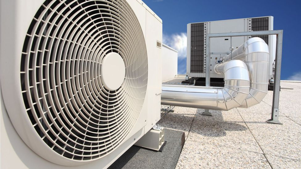 Conventional air conditioning releases greenhouse gases into the atmosphere, contributing to global warming (Credit: Getty Images)