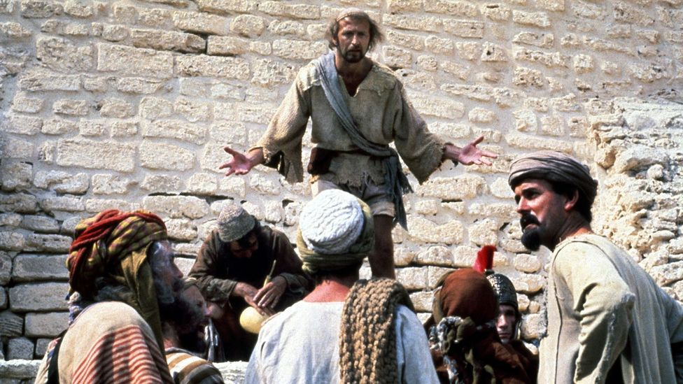 """John Cleese claimed that Life of Brian was """"about people who cannot agree with each other"""" (Credit: Alamy)"""