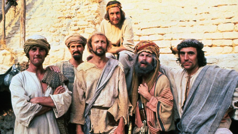 """In a discussion years after Life of Brian's release, Terry Jones said: """"I think the film is heretical, but it's not blasphemous"""" (Credit: Alamy)"""