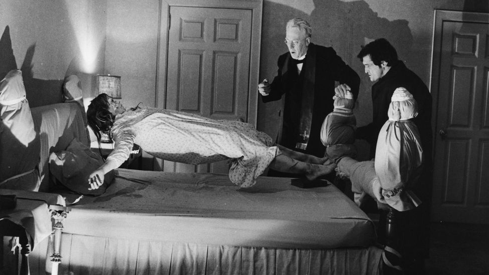 Showing the demonic possession of a young girl, The Exorcist became the first horror film to be nominated for a best picture Oscar (Credit: Alamy)
