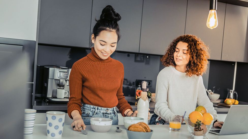 Understanding the way people perceive common areas in shared flats can help flatmates figure out the changes to make create happier homes (Credit: Alamy)