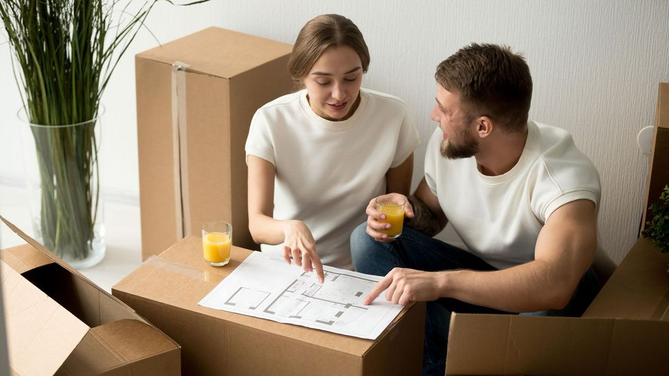 Perhaps surprisingly, the amount of actual space a home has isn't as important as how the members of the home plan for and use the areas (Credit: Alamy)