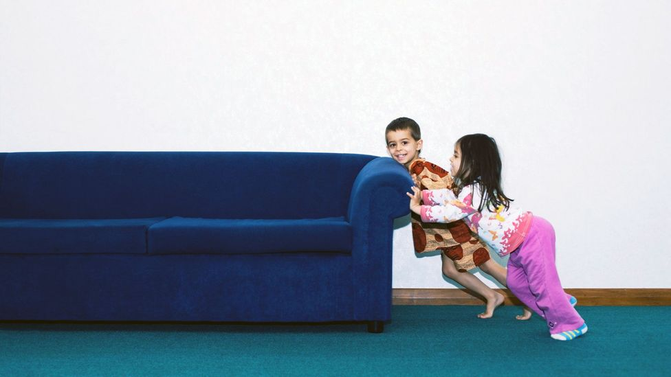 Small tweaks in homes and flats, such as rearranging furniture, can help you perceive your space in a totally different (and maybe even happier) way (Credit: Alamy)