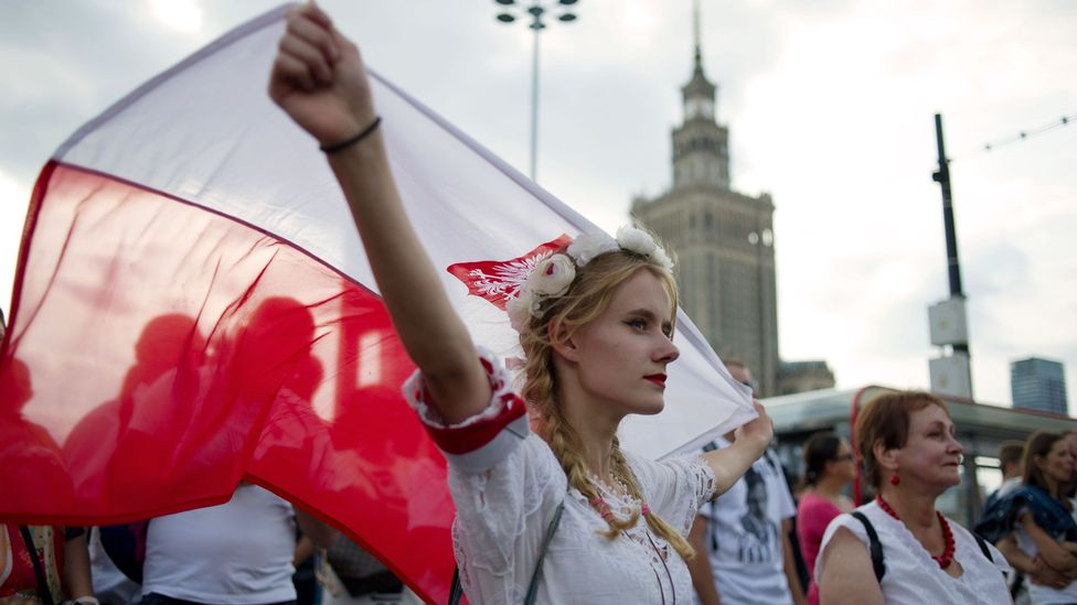 In 1944, the people of Warsaw started an uprising against the Nazis, an event that's commemorated every August (Credit: Aleksander Kalka/NurPhoto/Getty Images)