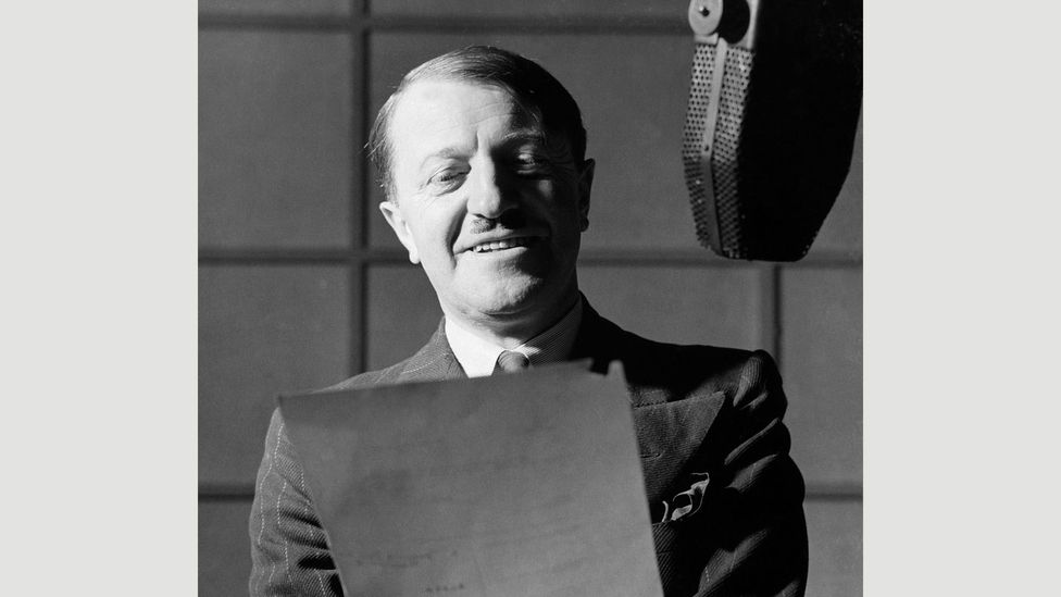 The BBC Home Service's wartime satire It's That Man Again (ITMA) starred Tommy Handley (Credit: BBC)
